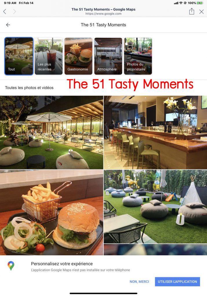 Restaurant สุดหรู !!                        สุดซอยสุขุมวิท 51                     The 51 Tasty Moments