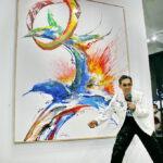 งานแสดงศิลปะที่ตอบแทนสู่สังคม โดย ศิลปิน สุรศักดิ์ ชัยอรรถ ในความร่วมมือของ Joyman Gallery