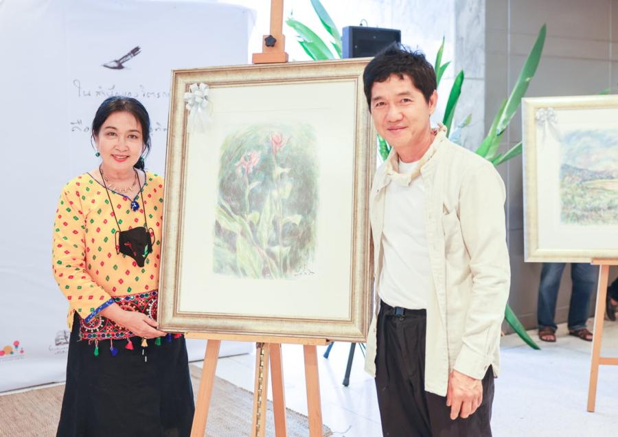 งานเปิดตัวนิทรรศการภาพกับเพลง  ชุด บทเพลงป่า : The Forest โดย เป้ สีน้ำ 16 มีค. – 4 เมย. 64 ณ ชั้น 3 หอศิลปวัฒนธรรมแห่งกรุงเทพมหานคร